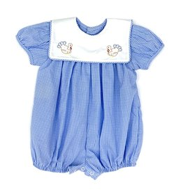 Remember Nguyen Turkey Girl Blue Romper