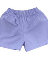 LullabySet Cheer Proud Purple Mini Gingham Shorts
