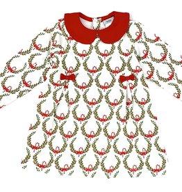 Ishtex Wreath A-line Dress