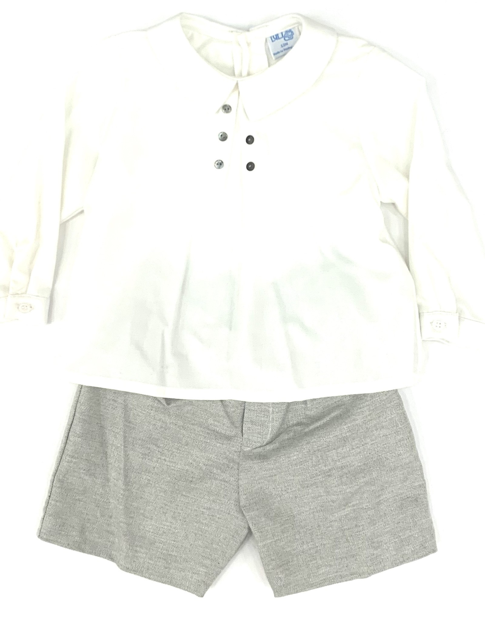 Sophie & Lucas Casual Grey Boy Set