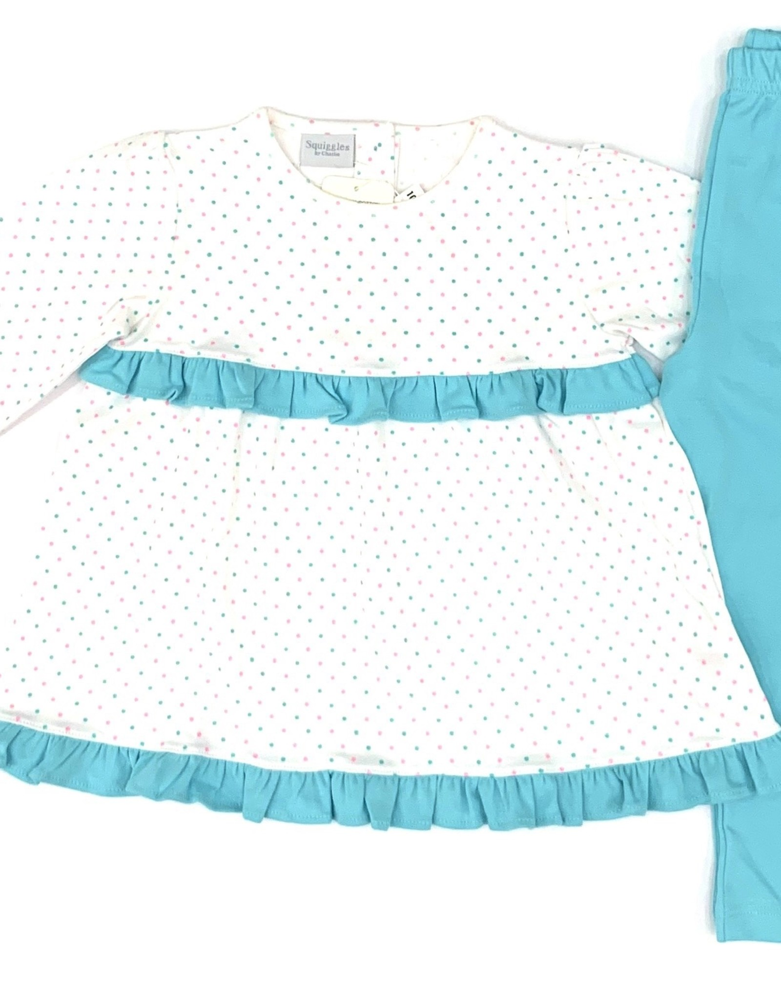 Squiggles Squiggles Long Sleeve Pant Sets