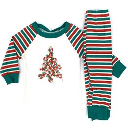 Krewe Boys Knit Crawfish Christmas PJs