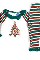 Krewe Girls  Knit Crawfish Christmas PJs