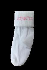 LullabySet Fold Over Bow Socks