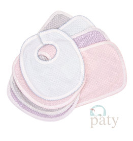 Paty Paty Bib and Burp Set