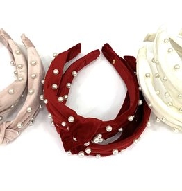 Bari Lynn Assortment Of Pearl Headband