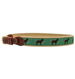 The Bailey Boys Chocolate Dog Belt