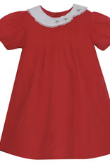 LullabySet Red Cord With Eyelet Trim Eloise Dress