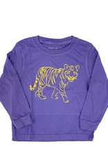 Mustard & ketchup Purple Tiger Tee Long Sleeve