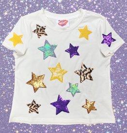 Sparkle City Kids Striped Star Tee