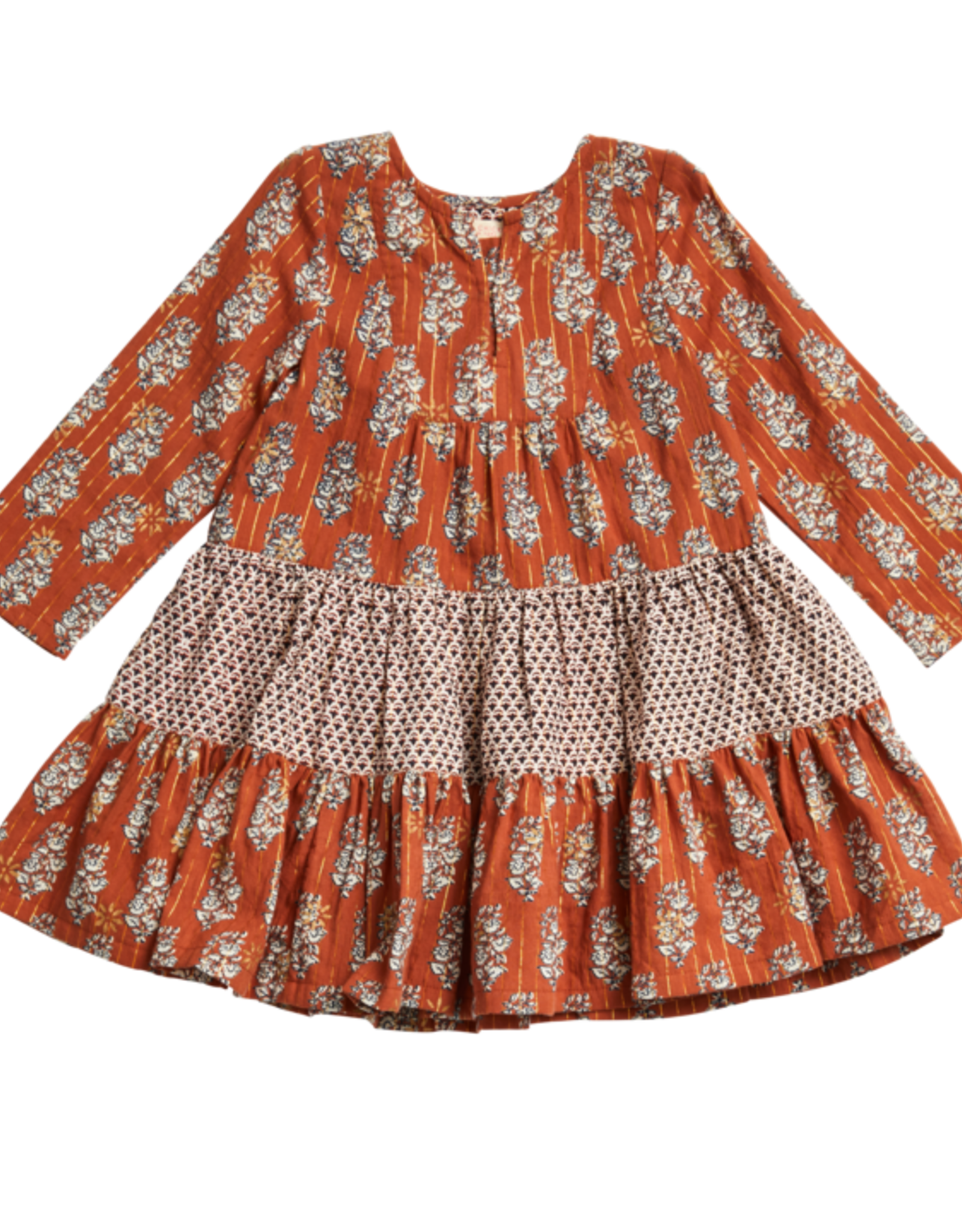 Pink Chicken Brown Penelope Dress