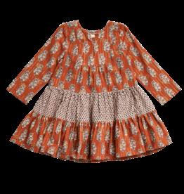 Pink Chicken Brown Penelope Dress