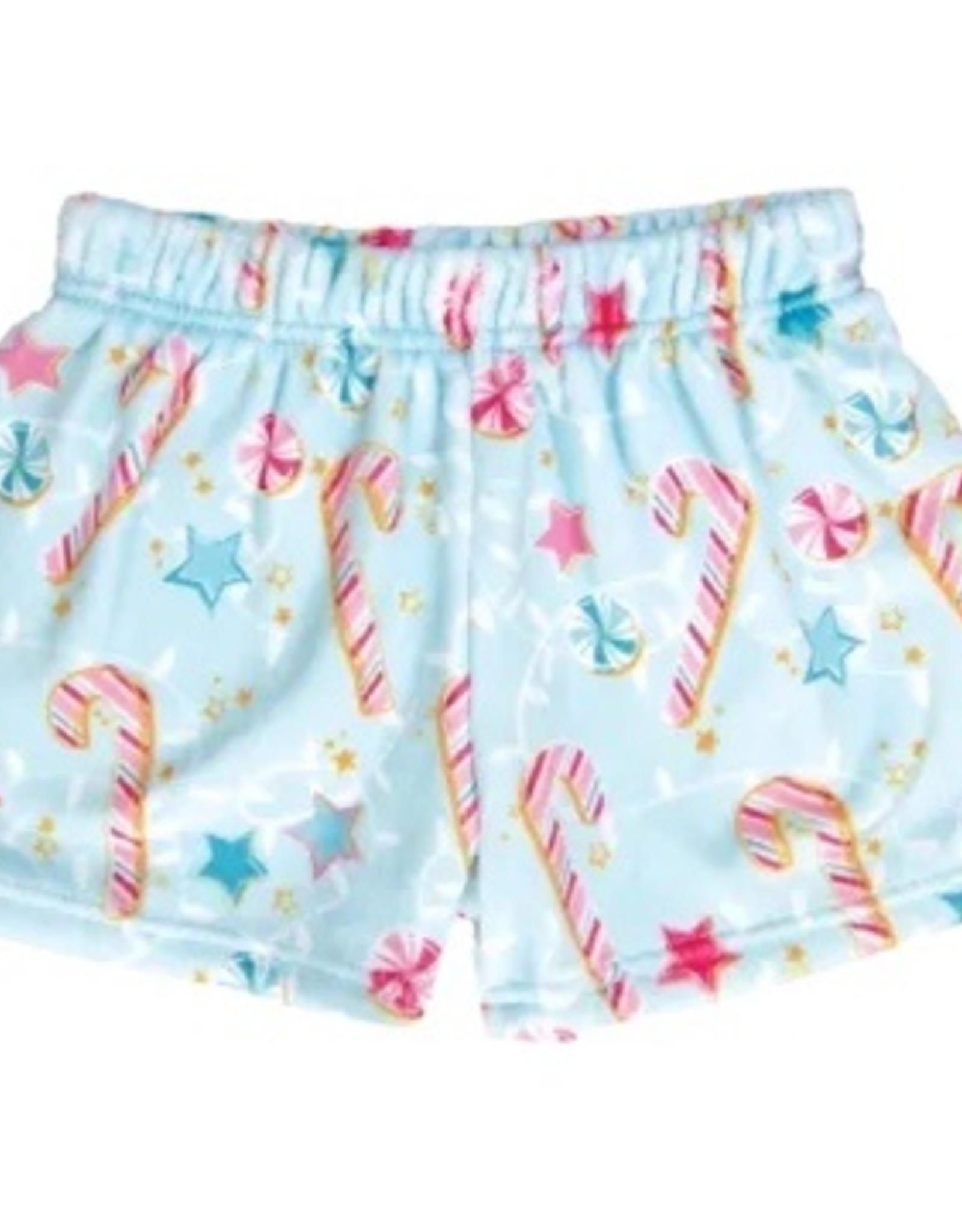 Iscream Christmas Plush Shorts