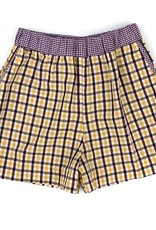 Lulu Bebe LLC Double Plaid Shorts