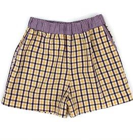 Lulu Bebe LLC Double Plaid Shorts