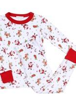 Magnolia Baby Christmas Cuties Long Pajamas