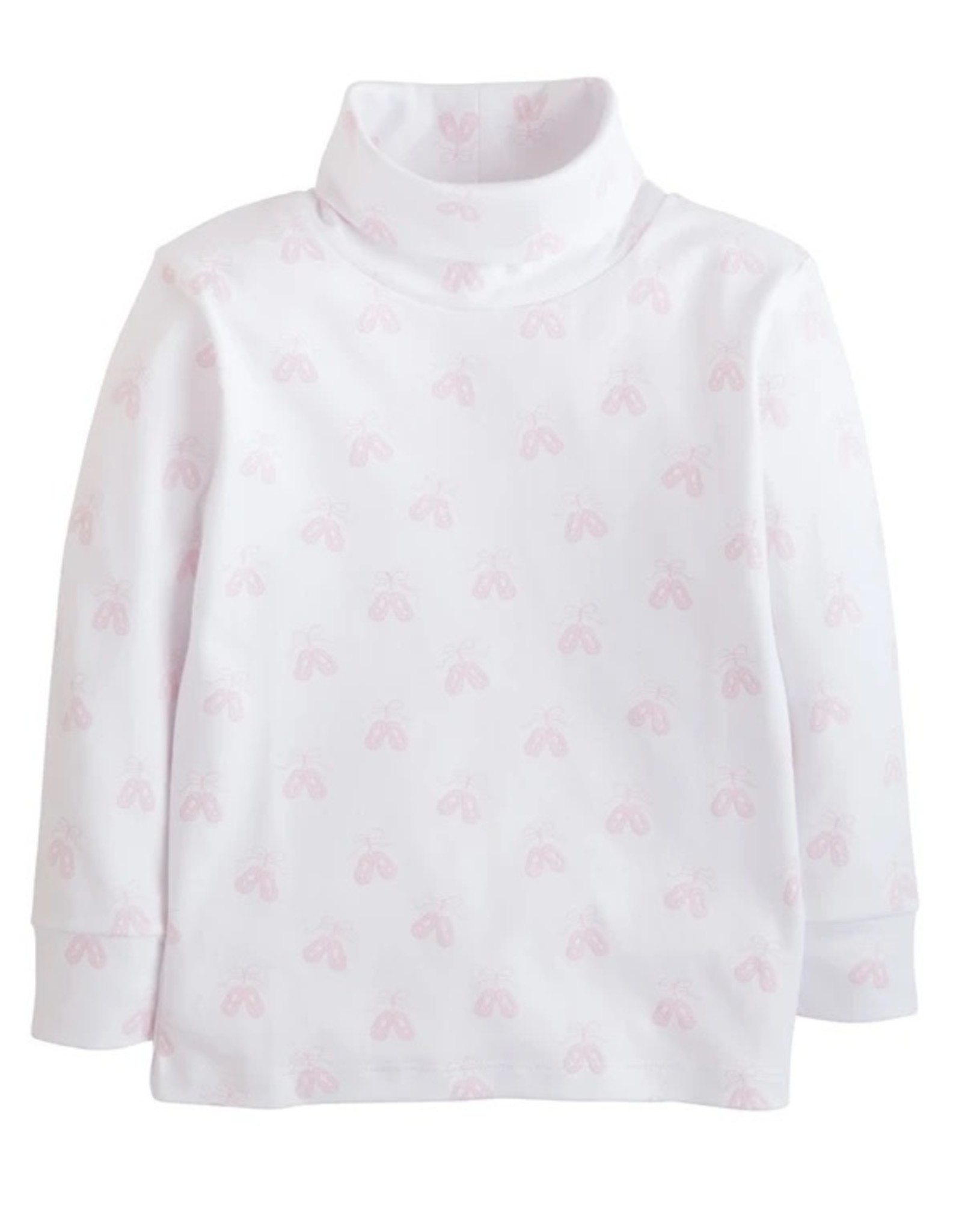Little English Ballet Printed Turtleneck
