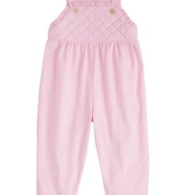 Little English Light Pink Ruffled Overall