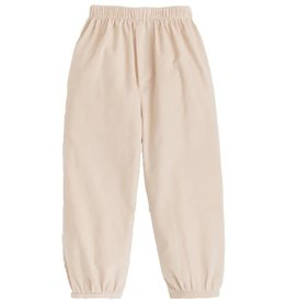 Little English Tan Banded Pull On Pant