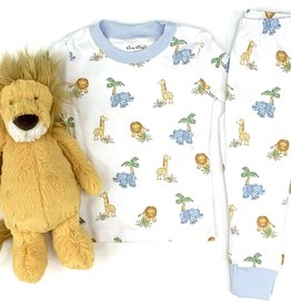 Kissy Kissy Animal Snug Pajama Set
