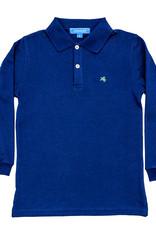 The Bailey Boys Long Sleeve Royal Blue Polo