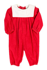 The Bailey Boys Red Corduroy Dressy Long Bubble