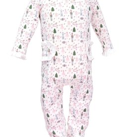 Lila and Hayes Lucy Nutcracker Princess Ruffle Pajamas