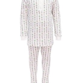 Lila and Hayes Jack Nutcracker Two Piece Pajama Set
