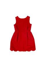 Gabby Aviana Red Silk Dress