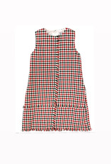 Gabby Houndstooth Holiday Dress