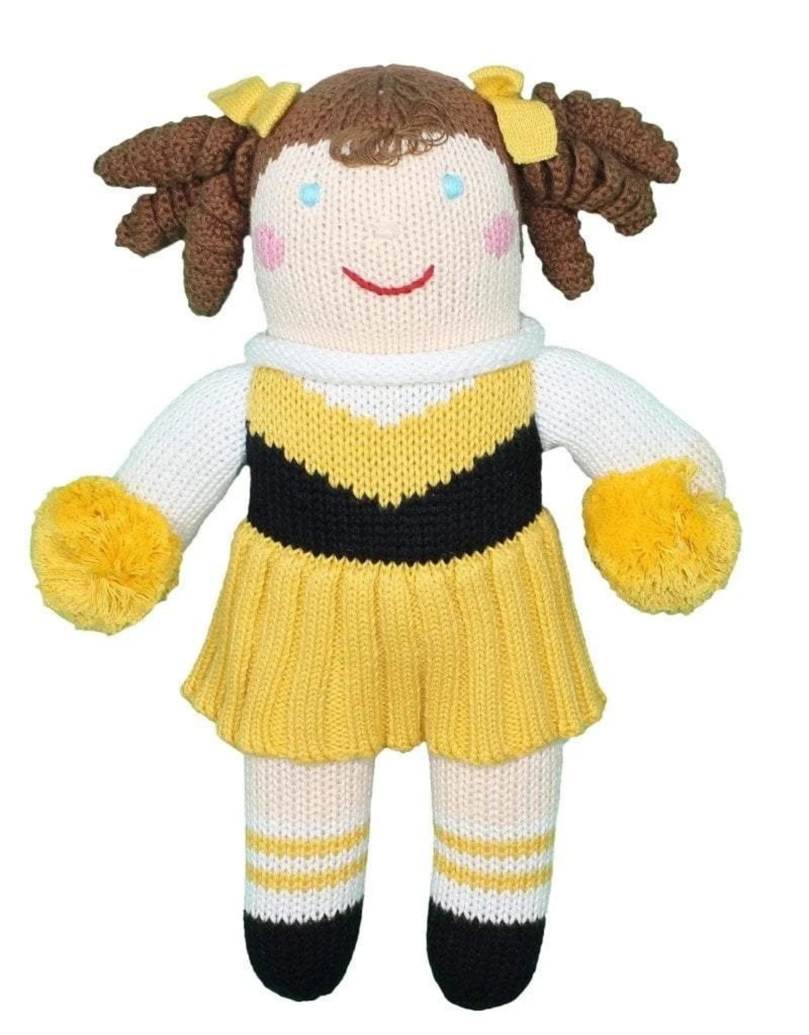 "Zubels 12"" Cheerleader Doll"