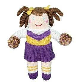 "Zubels 12"" Cheerleader Doll"