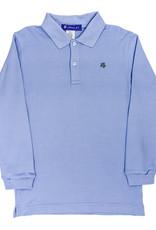 The Bailey Boys Long Sleeve Sky Blue Polo