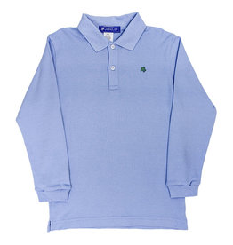The Bailey Boys Long Sleeve Sky Blue Polo