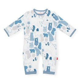 Magnetic Me Unbearably Cute Organic Cotton Magnetic Coverall