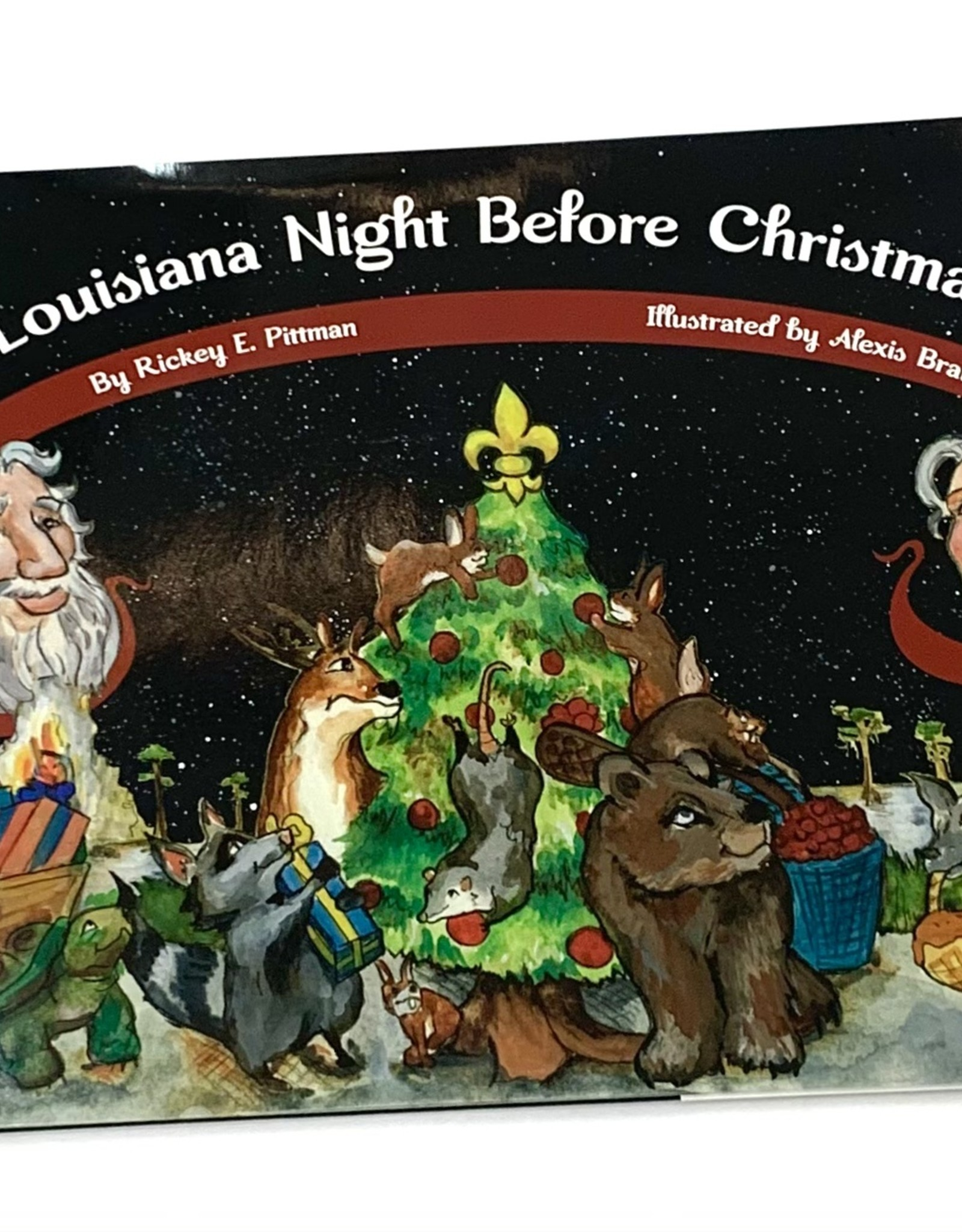 The Printed Press Louisiana Night Before Christmas