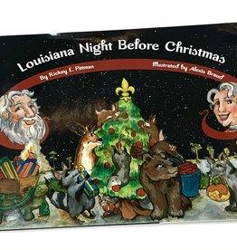 The Printed Press Louisiana Night Before Christmas