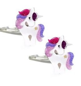 Lillies&Roses Unicorn Hair Clips