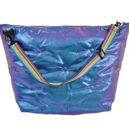 Iscream Shimmering Tufted Weekender Bag