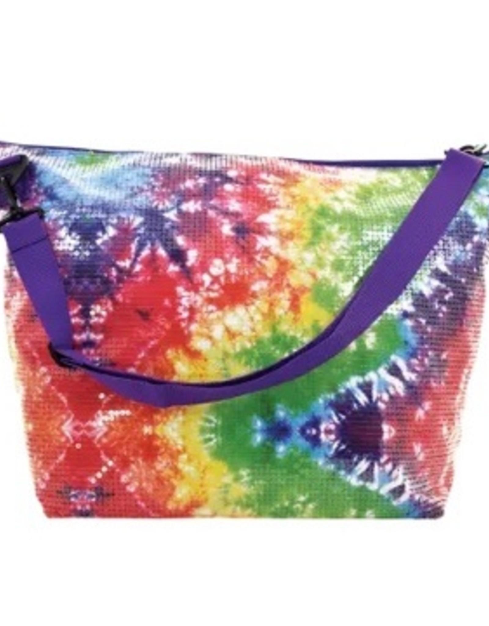 Iscream Tie Dye Sequin Weekender Bag