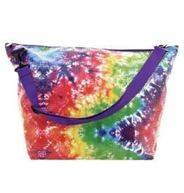 Iscream Tie Dye Sequin Weekender Bag