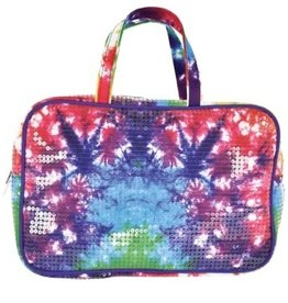 Iscream Tie Dye Sequin Cosmetic Bag