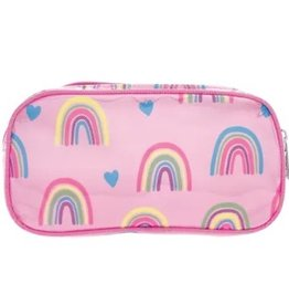 Iscream Rainbow & Hearts Small Cosmetic Bag