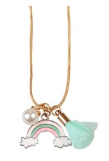Great Pretenders Rainbow Tassel Necklace