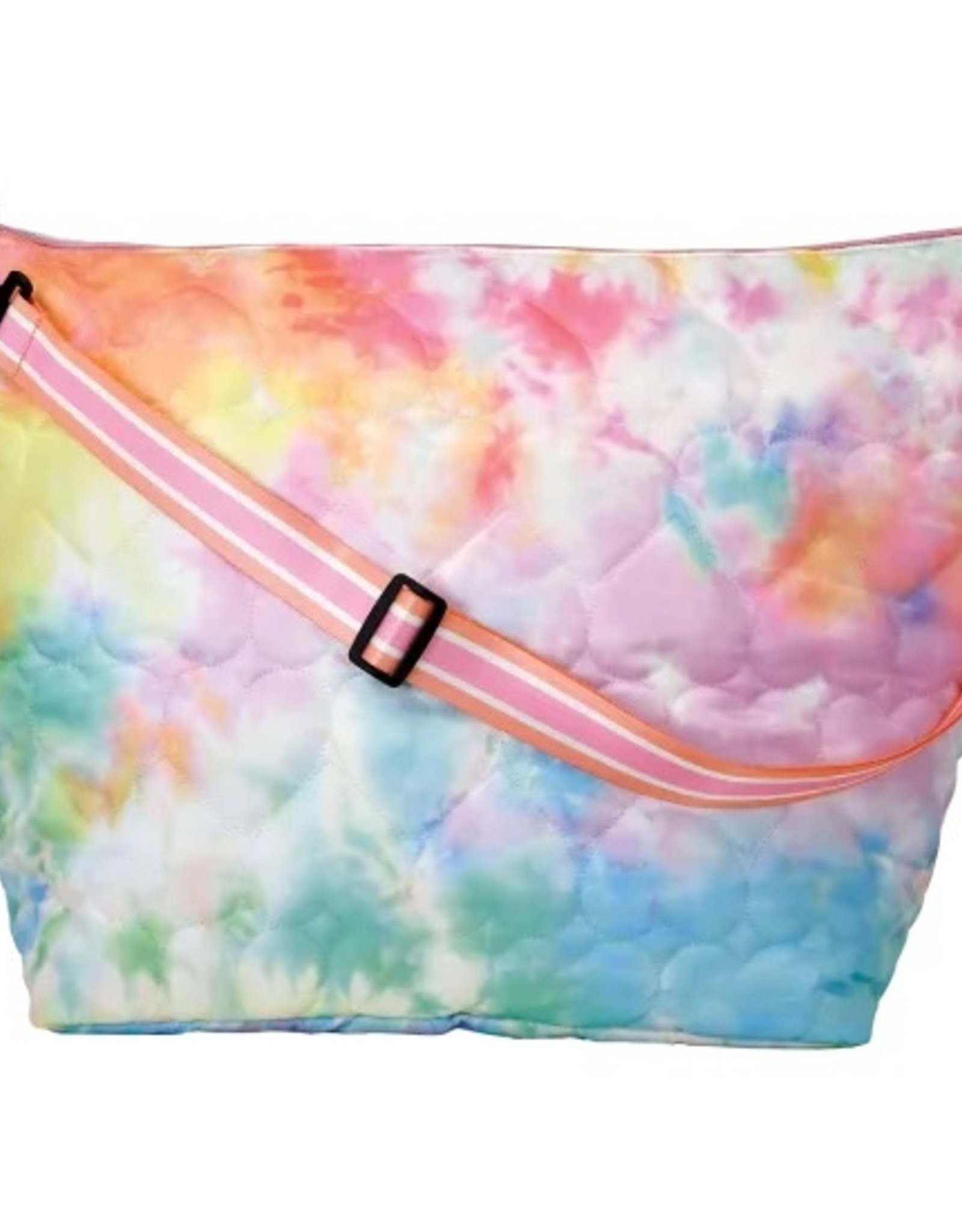 Iscream Cotton Candy Heart Quilted Weekender