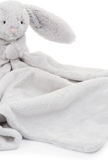 Jelly Cat Bashful Grey Bunny Soother