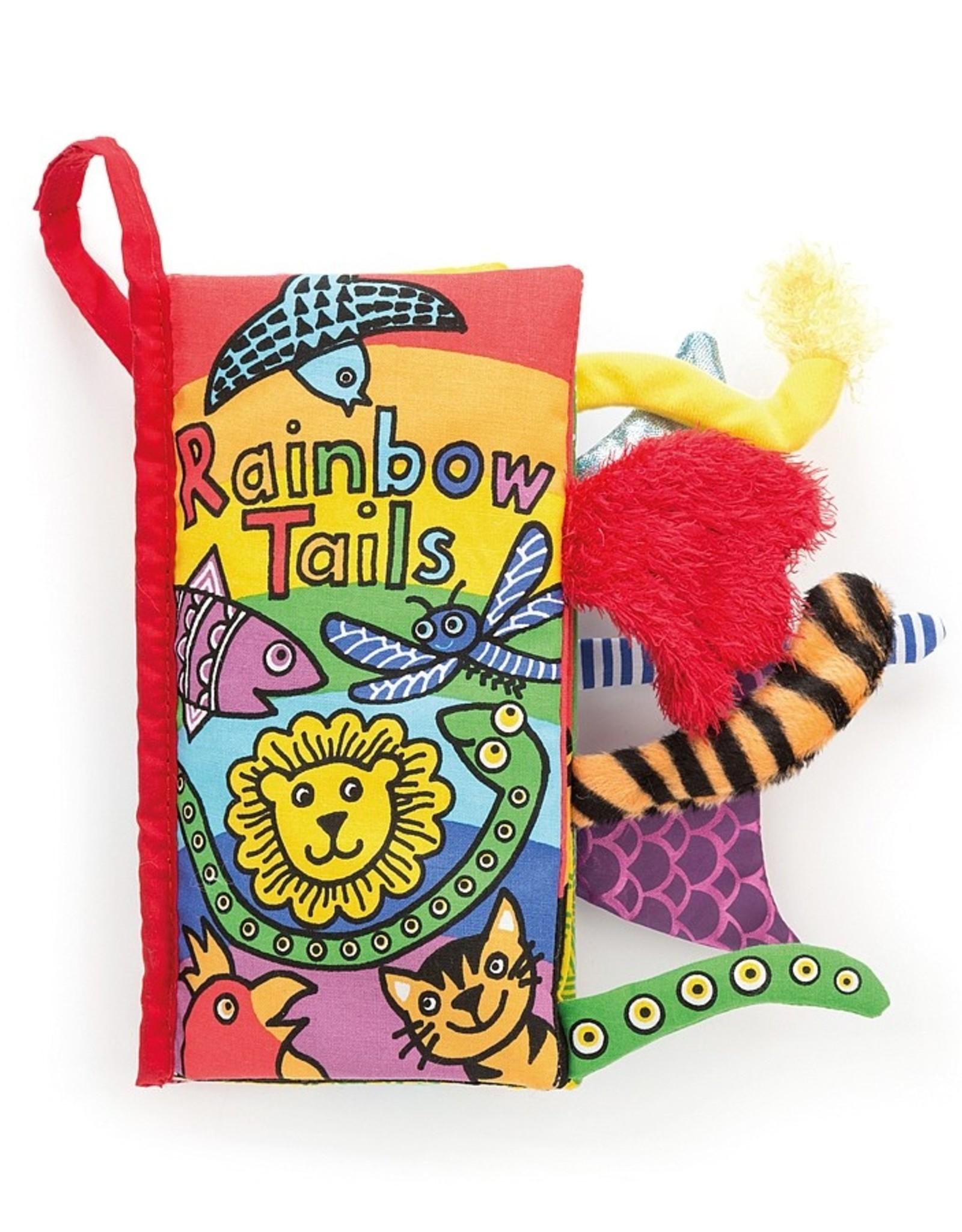 Jelly Cat Rainbow Tail Book