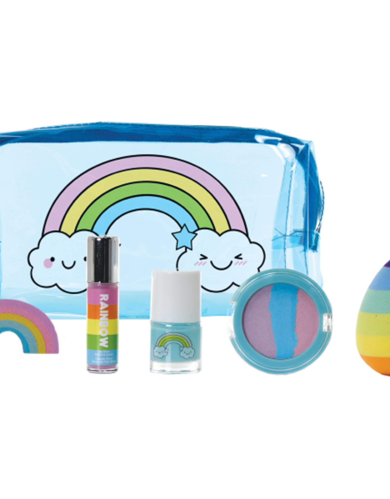 Iscream Rainbow Beauty Set In Pouch