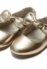 Rose Gold Knotted Bow Flat