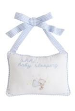 Little English Baby Door Pillow
